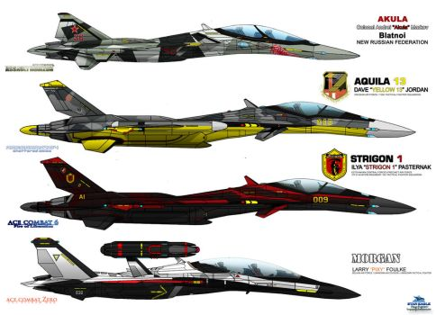 IFX Project - Special Livery - ACE COMBAT Baddiest by haryopanji