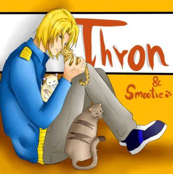 Thorn and smoothie fan art by Hella9