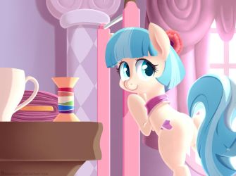 [My Little Pony] Coco Pommel by Frank-Seven