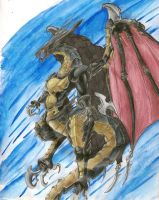 The Dragon King Bahamut by killer-rabbit-05