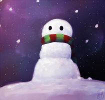 SnowMan by Dreamsverse
