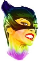Catwoman Repainted by astayoga