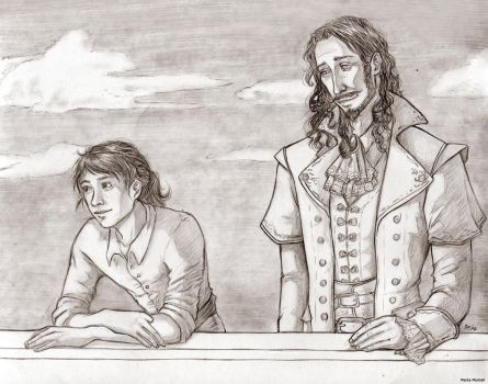 Kennit and Wintrow by MartAiConan