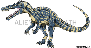 Jurassic World: Suchomimus by Alien-Psychopath