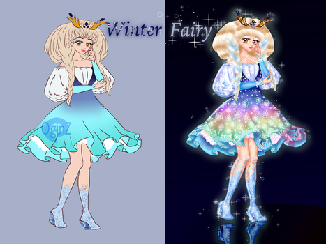 [OPEN] Winter Fairy: PayPal + Points Auction by OginZ