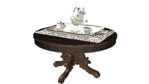 [MMD] Tea Service Set DL! by ScarlettAckerman
