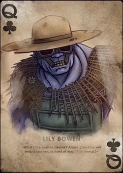 Lily, Queen of Clubs by TheOmegaRidley