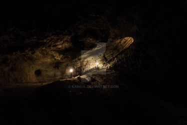 The Devil's Throat cave in Bulgaria by Karaul