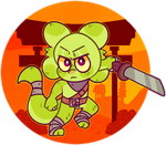 Angry Lizard by Damian-Fluffy-Doge