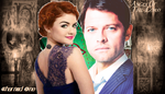 Mel And Castiel by misstudorwoman
