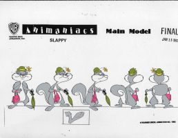 Slappy Squirrel Model Sheet by cheril59