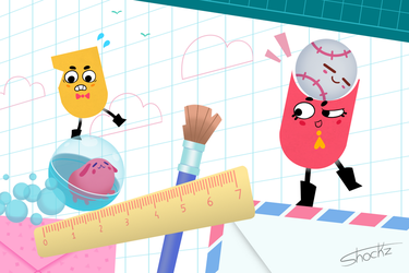 Snipperclips by Shockzboy