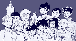 MP100: HAPPY BIRTHDAY MOB by Mephikal