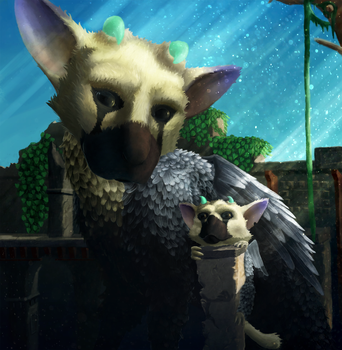 The last guardian : A Trico baby ! by Istrandar