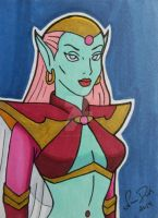 Queen Titania ACEO card by LadyNin-Chan