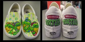 tmnt shoes by samo1988