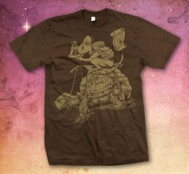 The Constant Traveler - Shirt by scumbugg