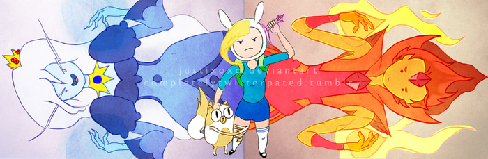 Fionna and Cake! by justixoxo