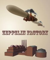 Zeppelin Factory by Jizba