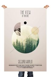 The View Nature PSD Flyer Template by pixelsdesign-net