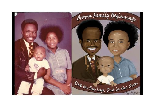 Brown Family by CreationsByTiffany