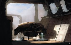 The fuelstation by AndreeWallin
