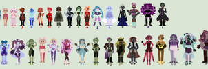 Gemsona List (OLD) by sarcasticHoarder