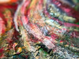 Colorful Abstract Macro Photography by AliDee33