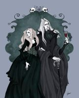 The Malfoys by IrenHorrors