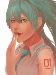 Miku by Zhyphrus