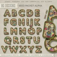 Alpha: Seed Packets by HGGraphicDesigns