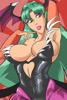 Morrigan portrait by PROtypeM3X