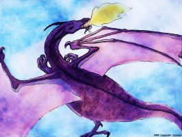 Digitalized Dragon by pisces6