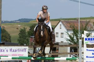 Level 5 Showjumping - L-Springen 56 by LuDa-Stock