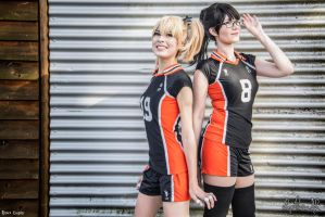 Volleyball Managers by Rinaca-Cosplay