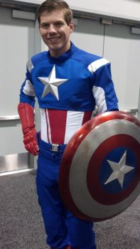 Steve Rogers - Captain America at Wondercon 2013 by Francision