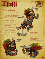 Tezcatlipoca Character Sheet by Chrissyissypoo19