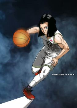 Android 17 on court by AdeBa3388