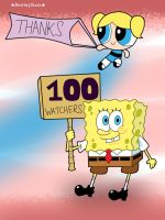 Thank You For 100+ Watchers! by DestinyStarz