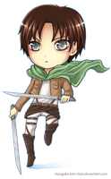 CHIBI - Attack on Titan - Eren by mangaka-Kim-chan