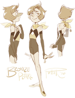 Bronze Pearl by MrsDrPepper