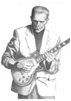 Frankenstein's Les Paul WIP 07 by Carl-Seager