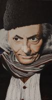 William Hartnell by Nessart2010