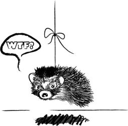 Hedgehogs Dilemma by GenkiGoth