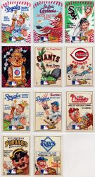 2016 MLB Wacky Packages by mhxistenz