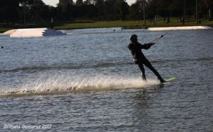 Cable Water Skiing #3 by Oksana007