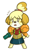 Isabelle the Bounty Hunter by Anaugi