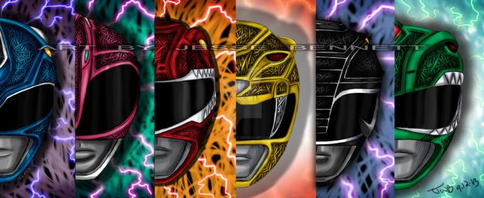 Mighty Morphin Power Rangers 2 by blueliberty