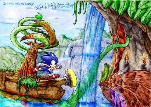 Waterfalls Route (color) by franikku