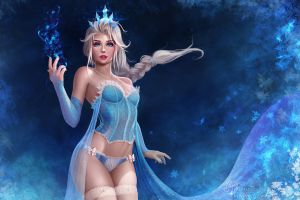 Snow Queen Elsa by Prywinko